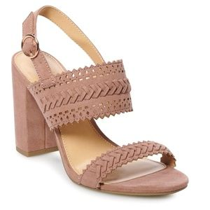 LC Lauren Conrad Dusty Pink Sandals